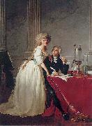 Portrait of Antoine Laurent Lavoisier and his wife (