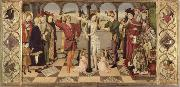 Jaume Huguet The Flagellation of Christ oil painting reproduction