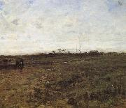 Field with tow countrywoman
