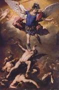 Luca  Giordano The Fall of the Rebel Angels oil painting reproduction