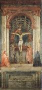 MASACCIO Holy Trinity oil painting reproduction