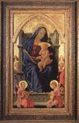 MASACCIO Virgin and Child oil painting reproduction