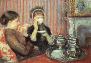 Tea by Mary Cassatt