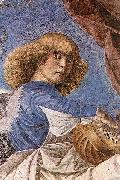 One of Melozzo famous angels from the Basilica dei Santi Apostoli