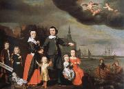 captain job jansz cuyter and his family