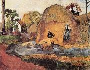 Paul Gauguin Harvest oil painting reproduction