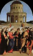 Raphael marriage of the virgin oil painting reproduction