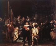 Rembrandt van rijn the night watch oil painting reproduction