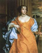 barbara villiers,duchess of cheveland as st.catherine of alexandria