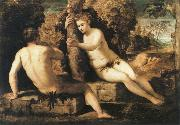 Tintoretto adam and eve oil painting reproduction