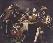 VALENTIN DE BOULOGNE The Concert oil painting reproduction
