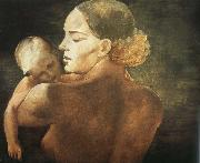 unknow artist Mother oil painting reproduction