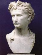 Wearing a crown of the citizens of Augustus