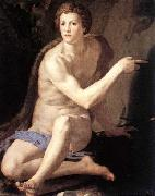Agnolo Bronzino St John the Baptist oil painting reproduction