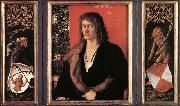 Albrecht Durer Portrait of Oswolt Krel oil painting reproduction