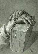 Hand Study with Bible - Drawing