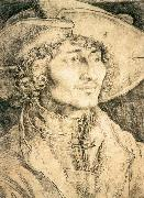 Albrecht Durer Portrait of a Young Man oil painting on canvas