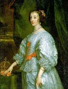 Queen Henrietta Maria, London 1632
