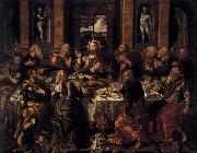 BERRUGUETE, Alonso Last Supper oil painting reproduction