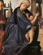 BRAMANTINO Holy Family oil painting reproduction