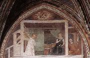 Barna da Siena The Annunciation oil painting reproduction