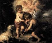 ) Infant Christ Offering a Drink of Water to St John
