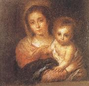 Napkin Virgin and Child