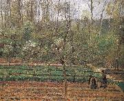 Camille Pissarro Spring oil painting reproduction