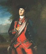 George Washington in uniform, as colonel of the First Virginia Regiment