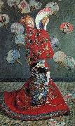 Madame Monet in a Japanese Costume,