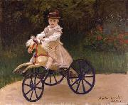 Jean Monet on his Hobby Horse