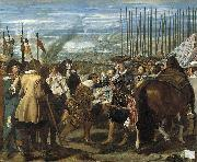 La rendicion de Breda was inspired by Velazquez first visit to Italy,