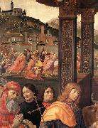 Domenico Ghirlandaio Adoration of the Magi oil painting reproduction
