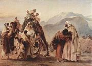 Francesco Hayez Meeting of Jacob and Esau oil painting reproduction
