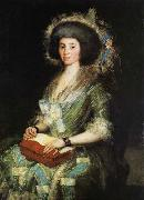 Portrait of the Wife of Juan Agust
