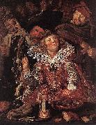 Frans Hals Shrovetide Revellers WGA oil painting reproduction
