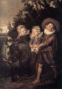 Frans Hals Group of Children WGA oil painting reproduction