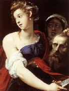 GIuseppe Cesari Called Cavaliere arpino Judith with the Head of Holofernes oil painting reproduction