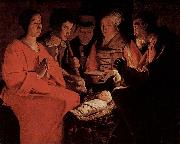 Nativity, Louvre