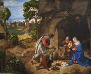 The Allendale Nativity Adoration of the Shepherds