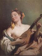 Mandolin played the young woman