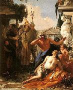 Death of Hyacinth.