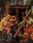 Grunewald, Matthias Carrying the Cross oil painting reproduction