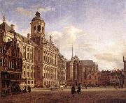 The New Town Hall in Amsterdam after