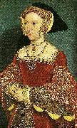 HOLBEIN, Ambrosius jane seymour oil painting