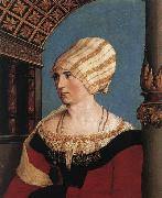 HOLBEIN, Hans the Younger Portrait of Dorothea Meyer oil painting reproduction