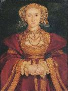 Portrait of Anne of Cleves,