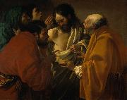 Hendrick ter Brugghen Doubting Thomas oil painting reproduction