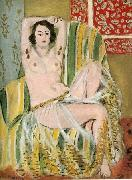 Odalisque with Raised Arms,