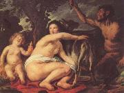 Jacob Jordaens. The Infant Jupiter Fed by the Goat Amalthea.